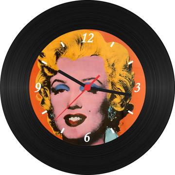 Relógio de Vinil - Marilyn (Pop Art)