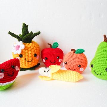 Amigurumi Frutas (Fruits Gurumi)
