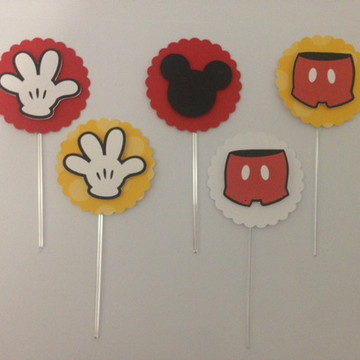 toppers doces tema Mickey