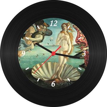 Relógio de Vinil - Botticelli