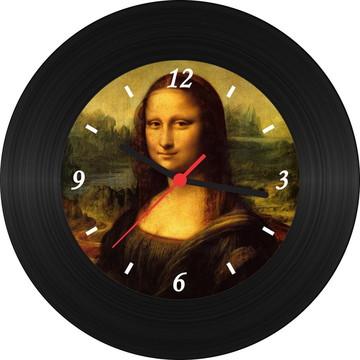 Relógio de Vinil - Monalisa