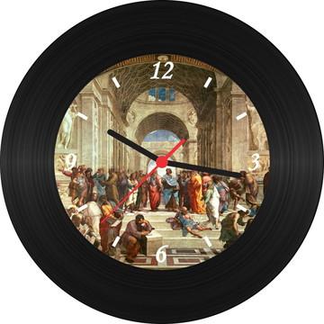 Relógio de Vinil - Rafael Sanzio