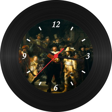 Relógio de Vinil - Rembrandt