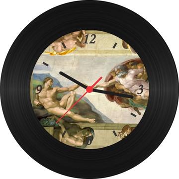 Relógio de Vinil - Michelangelo