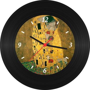 Relógio de Vinil - Klimt