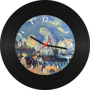 Relógio de Vinil - Cézanne