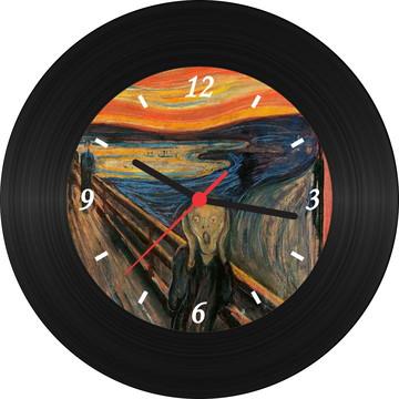 Relógio de Vinil - O Grito