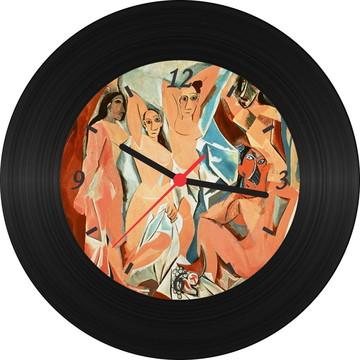 Relógio de Vinil - Picasso