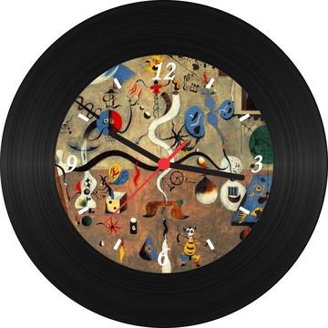Relógio de Vinil - Miró