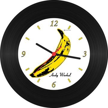 Relógio de Vinil - Andy Warhol