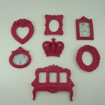 Kit Mini Molduras Pink