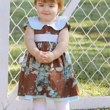 Vestido Bordado - Infantil