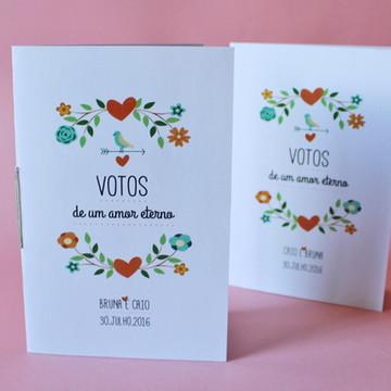 Caderno de Votos - Delicado