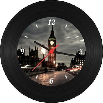Relógio de Vinil - Big Ben