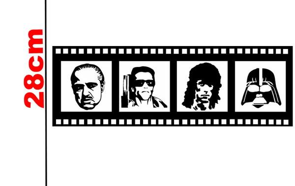 Adesivo Parede Fita De Cinema No Elo7 Ld Creativity Store 98fe02