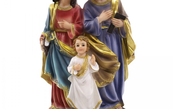 b72106e4198 Imagem Sagrada Família Em Resina 30cm no Elo7