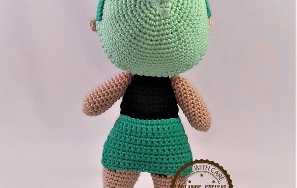Bambola Lol Surprise (Parte 2) Amigurumi Tutorial - Muñeca Lol ... | 380x600