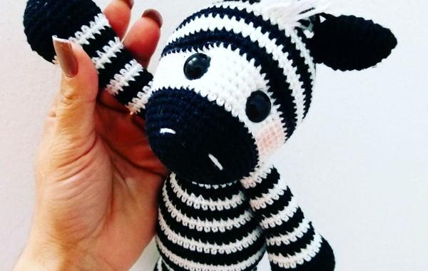 Amigurumi Zebra Crochet Pattern, CP - 149 | LovelyBabyGift on ArtFire | 380x600