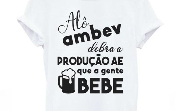 Camiseta - Alô Ambev no Elo7 | cuchitapie (B29891)