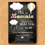 Arte-convite-nuvem-chalkboard-digital-tema-nuvem