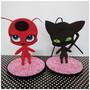 2-personagens-tikki-e-plagg-de-eva-ladyb-enfeite-de-mesa-lagybug
