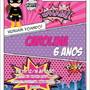 Convite-batgirl-mulher-gato-batgirl