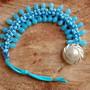 Pulseira-centopeia-azul