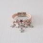Pulseira-feminina-de-couro-rose-e-estrelinhas-prata-pulseira-estrela