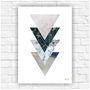 Poster-impresso-abstrato-geometrico-tamanho-a4-homem