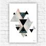Poster-impresso-abstrato-geometrico-tamanho-a4-quadro-abstrato