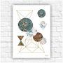 Poster-impresso-abstrato-geometrico-tamanho-a4-decoracao-para-parede