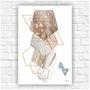 Poster-impresso-abstrato-geometrico-tamanho-a4-corredor