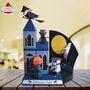 Castelo-3d-halloween-arquivo-de-corte-letras-3d-silhouette