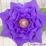Flor-gigante-modelo-04-arquivo-de-corte-molde-peppa-pig