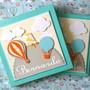 Diario-bebe-personalizado-e-caixa-menino-baloes-nuvens-azul-livro-do-bebe-para-menino