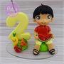 Topo-com-vela-personalizado-quitandinha-vela-frutinhas