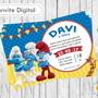 Convite-digital-smurfs
