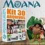 Kit-com-30-arquivos-silhouette-festa-moana-convite-frozen