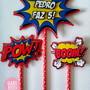 Topo-de-bolo-tema-super-herois-cake-topper-super-hero