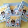 Scrapbook-kit-5-pecas-papelaria-pequeno-principe-negro-porta-de-maternidade-pequeno-principe