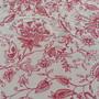 Tecido-bege-floral-vermelho-tricoline-floral-vermelho