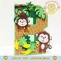 Letra-3d-decorada-tema-safari-festa-personalizada