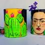 Frida-kahlo-lata-para-plantas-suculentas