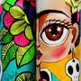Frida-kahlo-garrafa-decorada