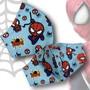 Mascara-homem-aranha-tecido-duplo-anatomica-mascara-protecao