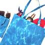 Sacola-com-saquinho-para-praia-ou-compras-azul-agua-pronta-e-eco