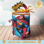 Caixinha-para-festa-tema-superman-cupcake