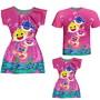 Vestidos-mae-e-filha-camiseta-pai-baby-peixinhos-rosa-shark