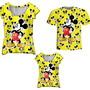 Camisetas-pai-mae-e-filha-mickey-amarelo-talmaetalfilha