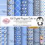 Kit-digital-pinguim-cute-azul-azul